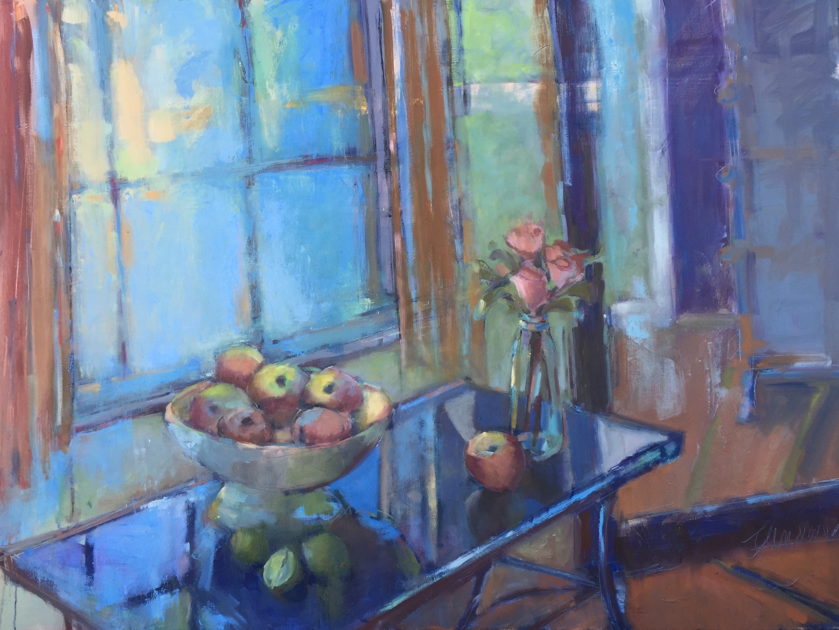 Franny Andahazy - Still Life Reflection (Sold)