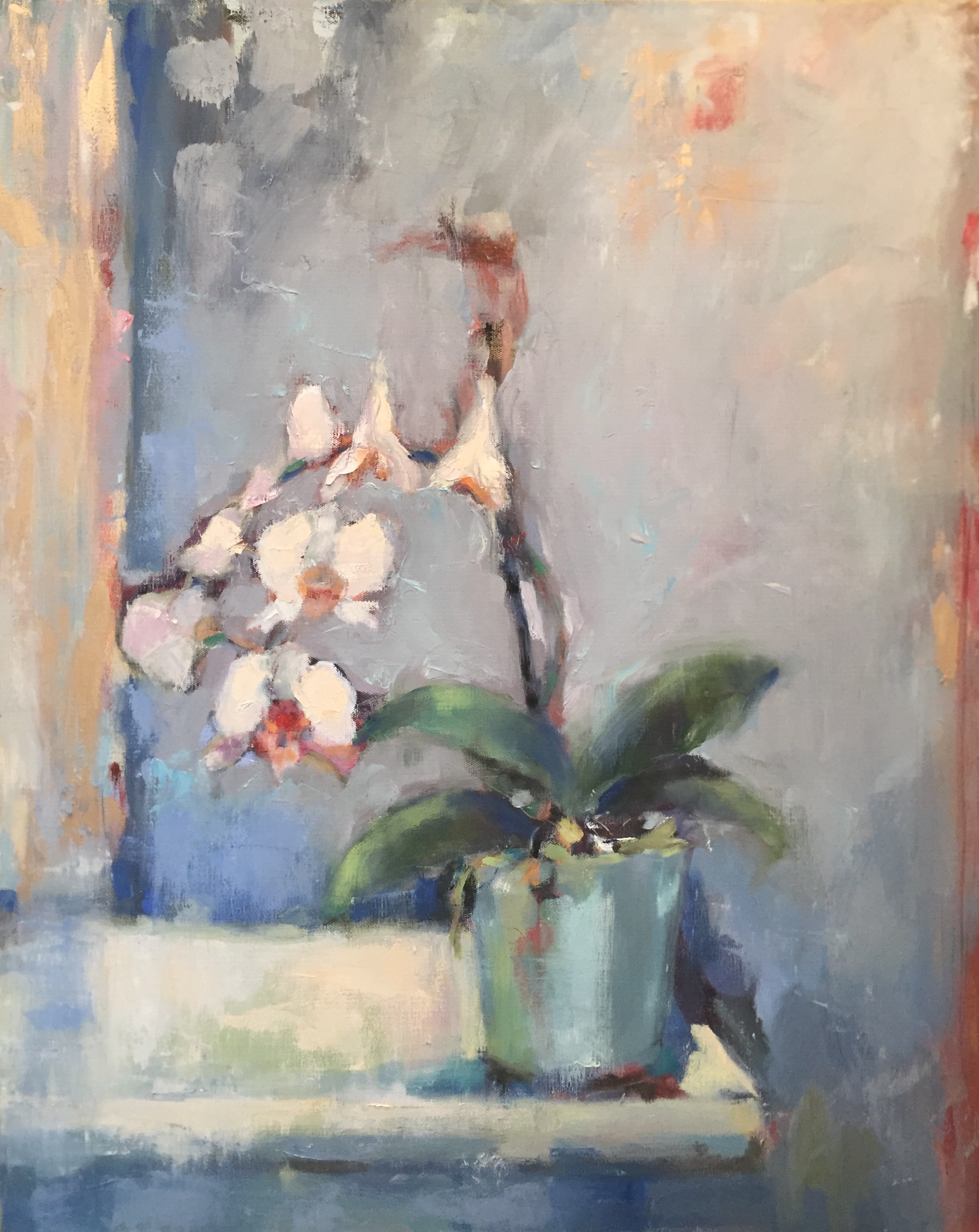 Shy Orchid 30x24