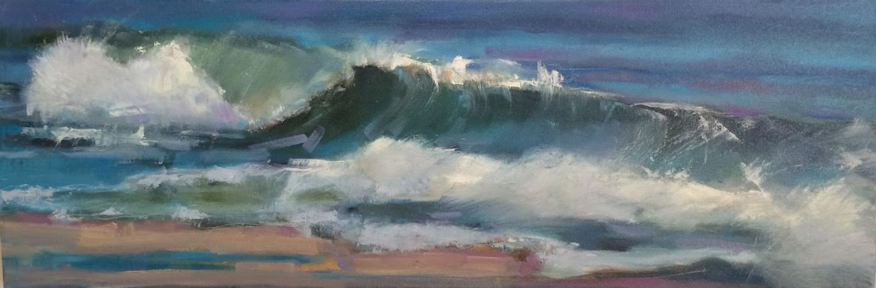 Curling Wave (Sold)