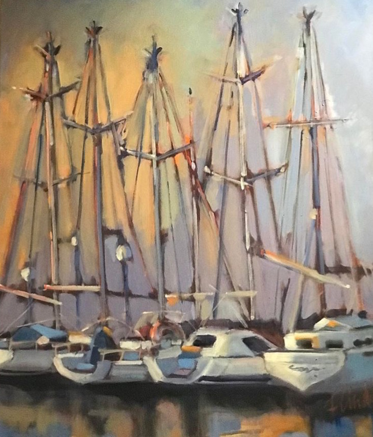 Whistling Masts (SOLD)