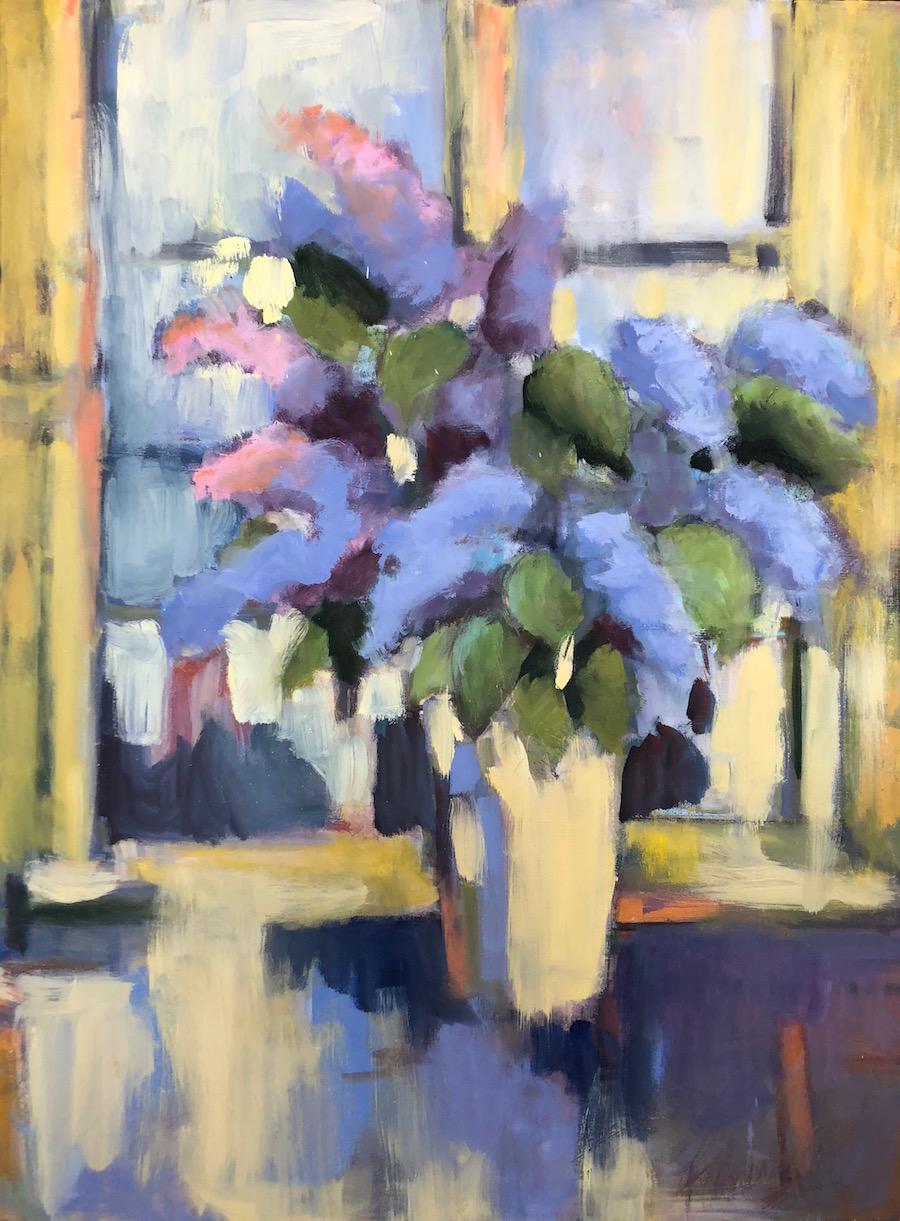 Lilac Bouquet - 40x30