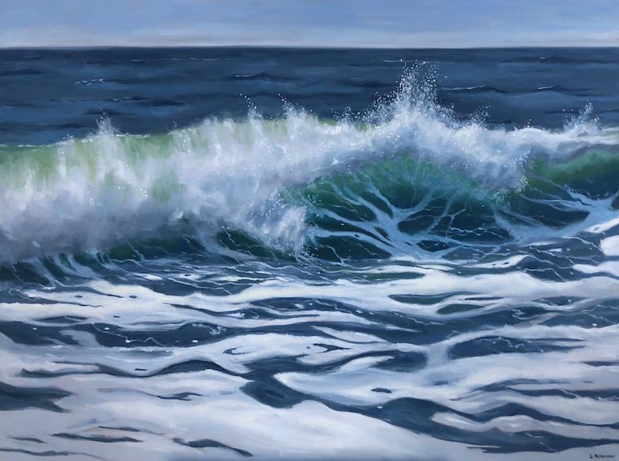 Wave II 36x48