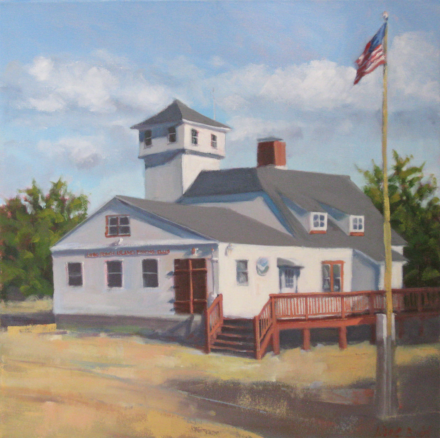 LBI Fishing Club 18x18