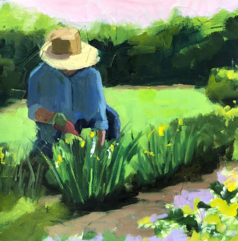 Spring Cleanup 16x16