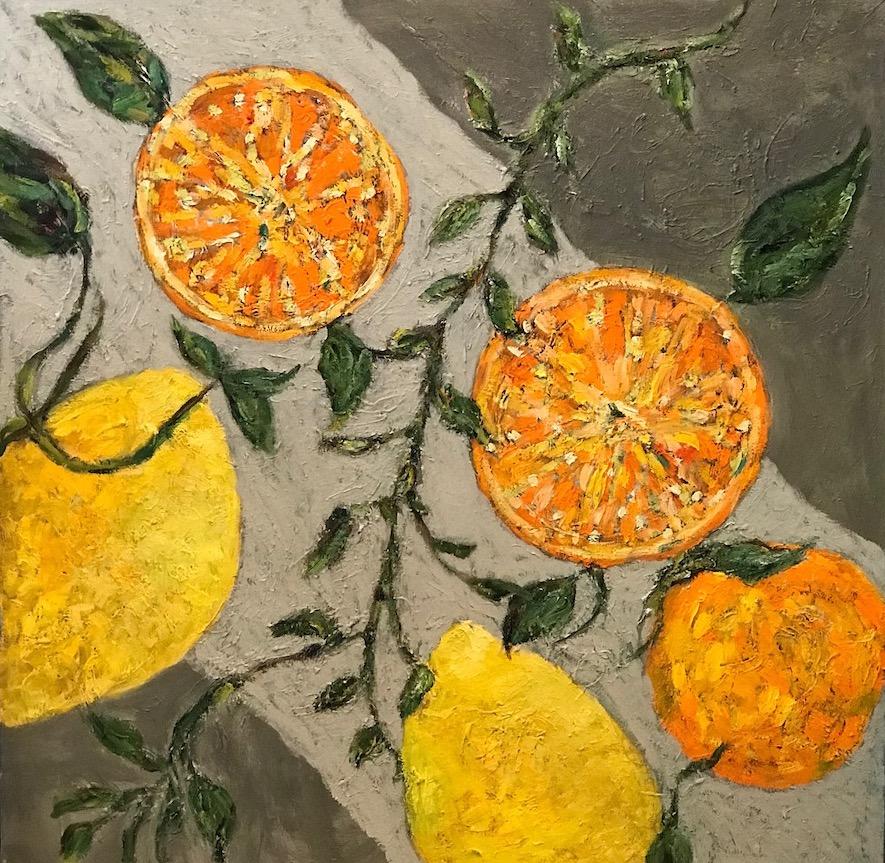 Citrus Dreams 36x36