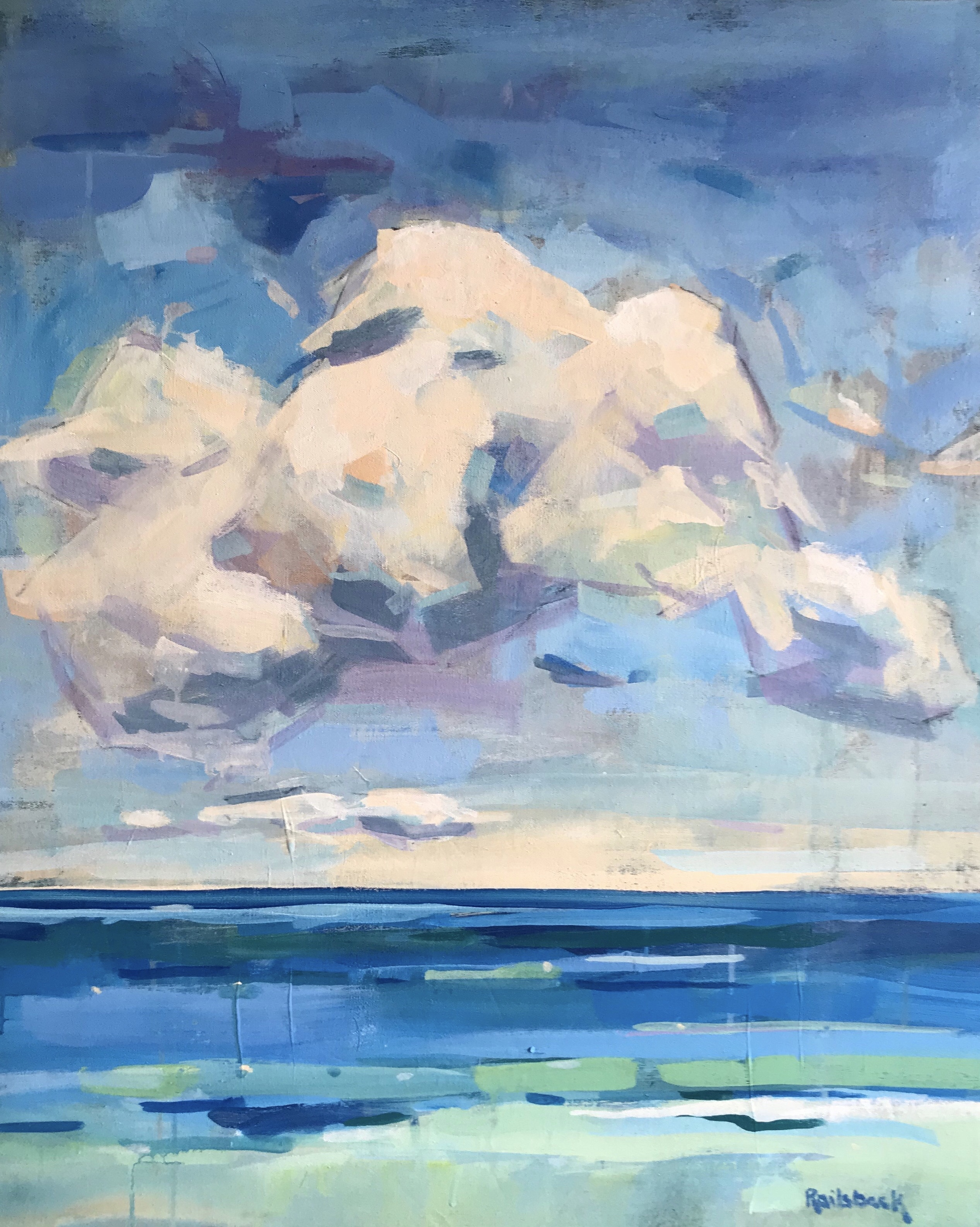 Page Railsback - Clouds 38x31