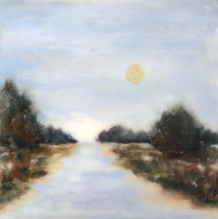 Moonrise 12x12