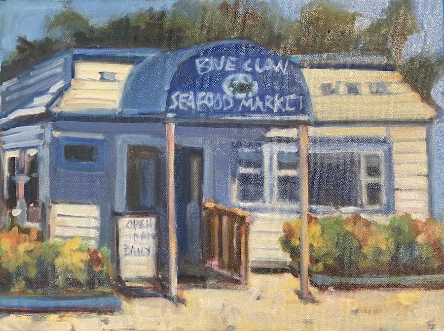 BLUE CLAW 12X16