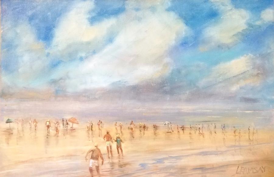 Beach Day 24 x 36