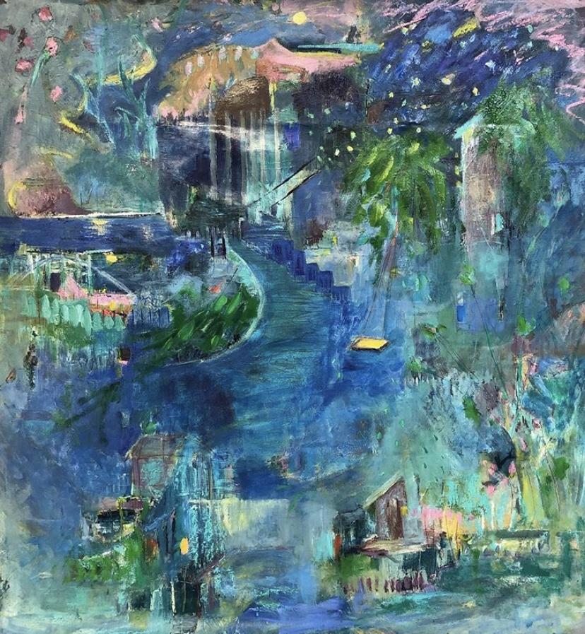 Andrea Sauchelli - Wanderer 45x41