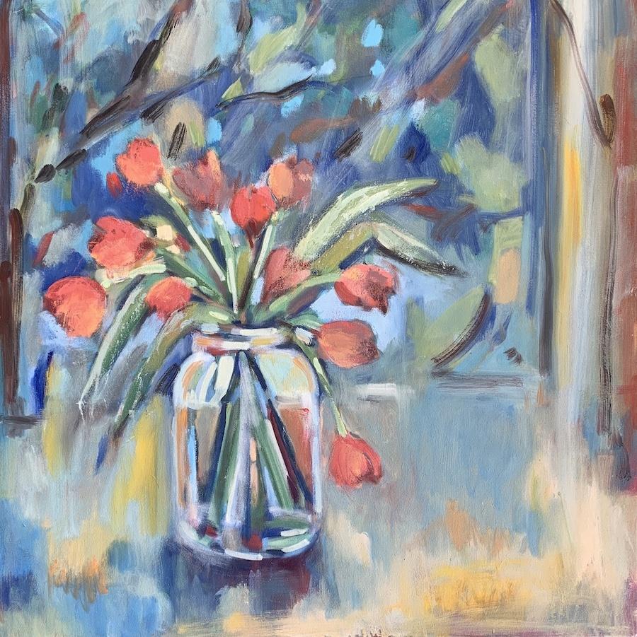 Tulips 30x30