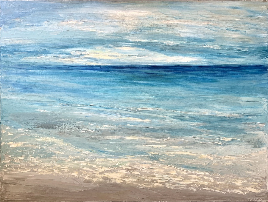 To the Sea Somehow 30x40
