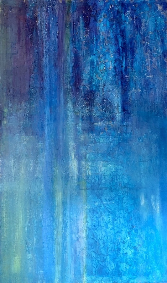 When the Stars Go Blue 60x36