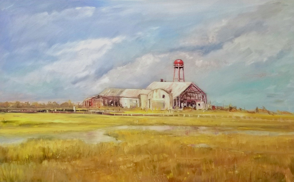 Old Fish Factory 30 x 48