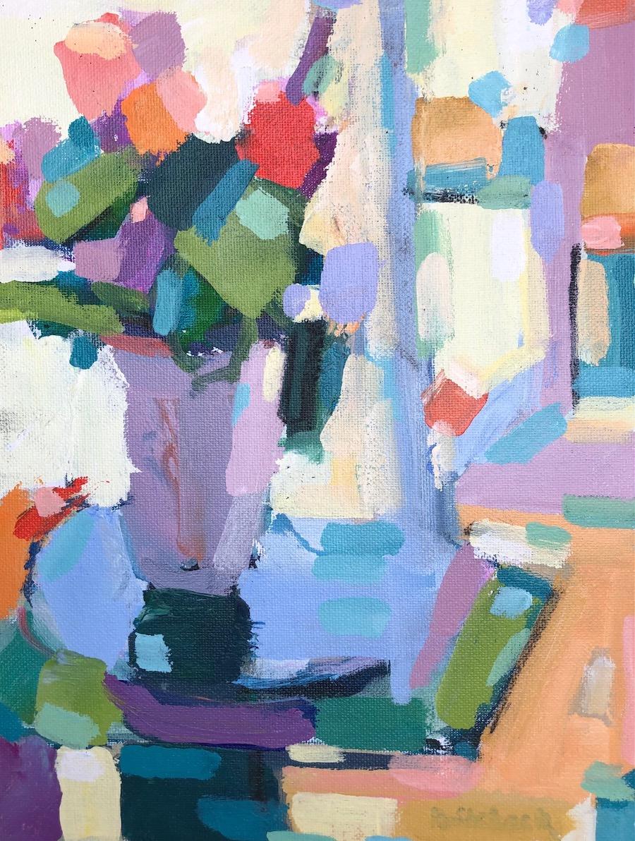 Flower Mosaic 11x8
