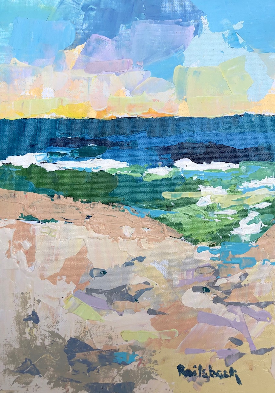 Page Railsback - Sea and Sand 11x8