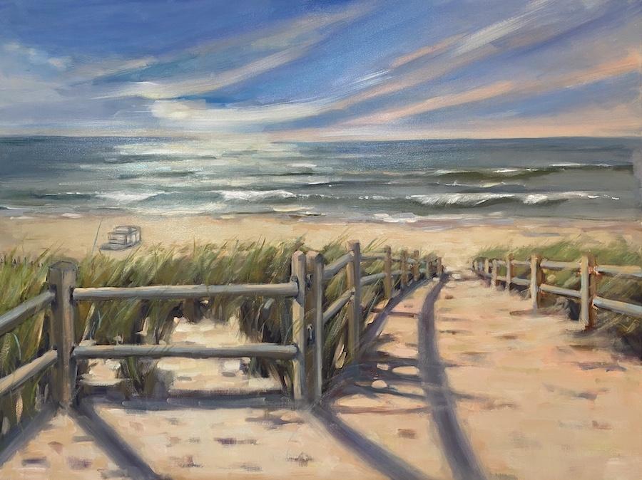 24th Street Beach Path (commission)