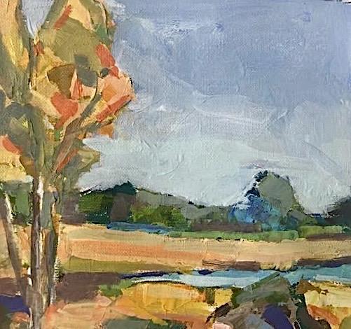Fall Marsh 8x8