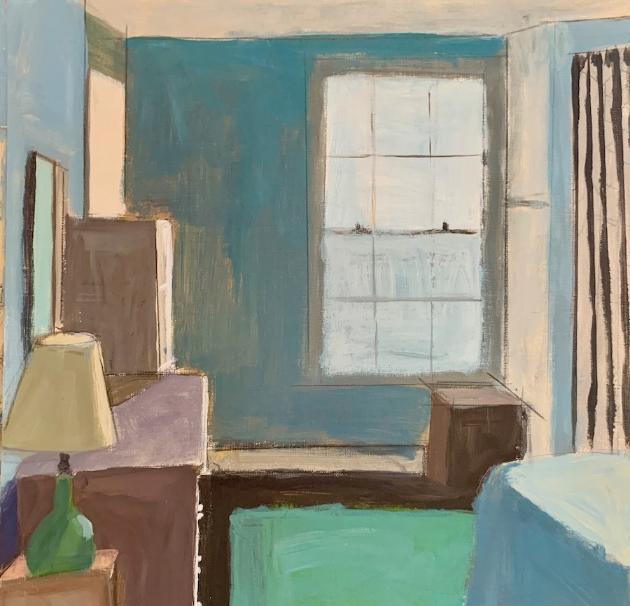 The Blue Room 12x12