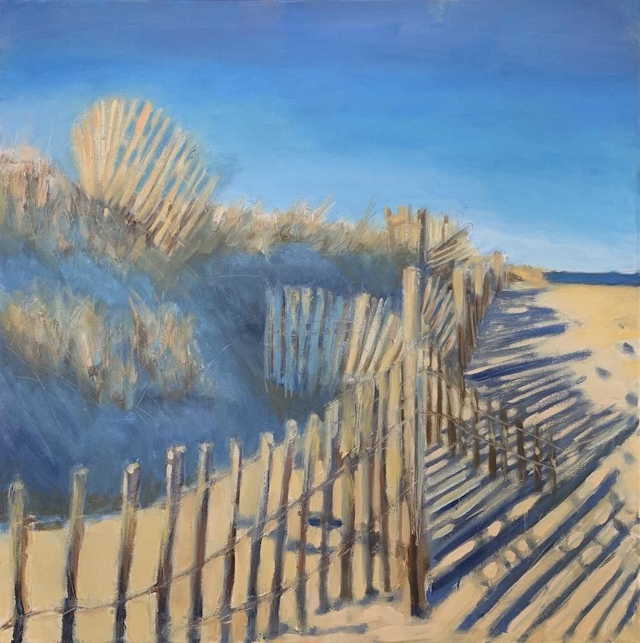 Franny Andahazy - Winter Dunes 30x30