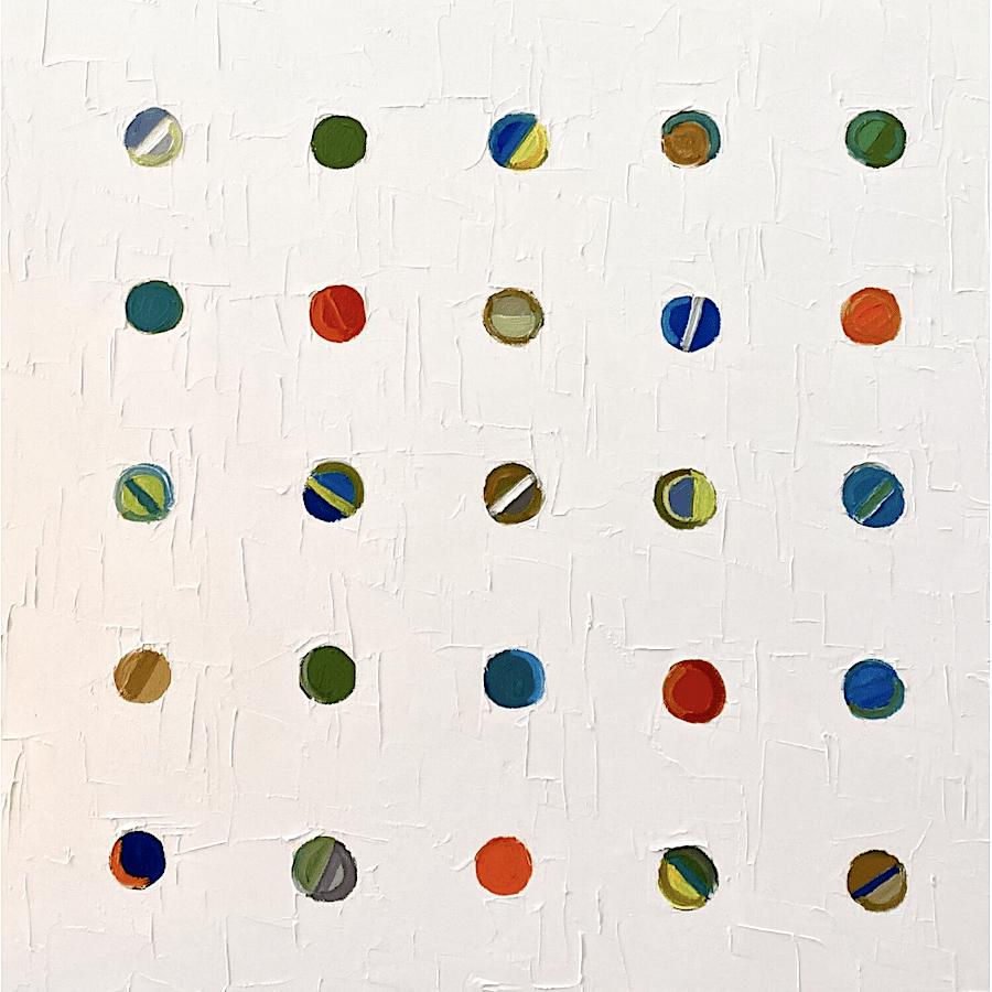 Beach Balls I 24x24