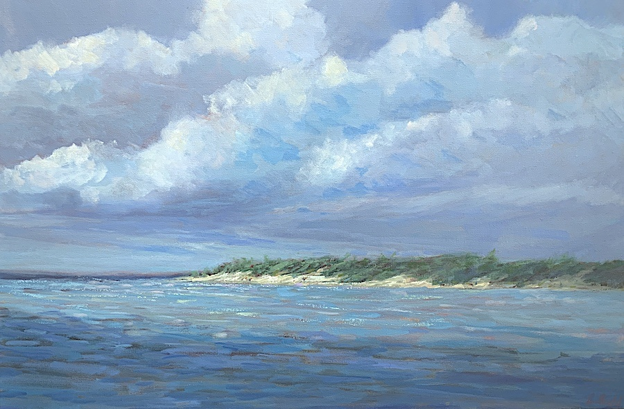 Across the Inlet 24x36