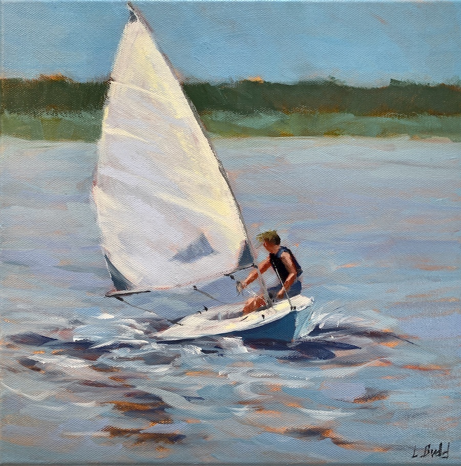 Summer Sailing 12x12