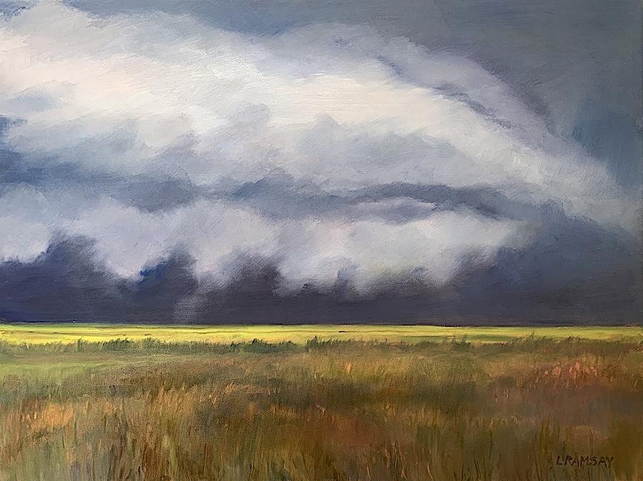 Summer Storm 30x40 (sold)